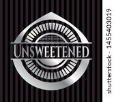unsweetened silver badge or... | Shutterstock .eps vector #1455403019
