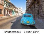 havana june 28 classic vintage... | Shutterstock . vector #145541344