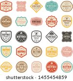 retro product badge collection... | Shutterstock .eps vector #1455454859