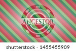 ancestor christmas emblem.... | Shutterstock .eps vector #1455455909