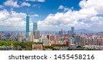 Dramatic Cityscape Of Taipei...