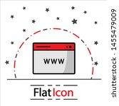 www icon online website or... | Shutterstock .eps vector #1455479009