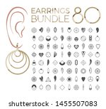 80 Vector Designs Of Earring....