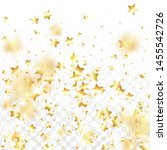 gold star confetti on... | Shutterstock .eps vector #1455542726