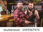 strong alcohol drinks. friends... | Shutterstock . vector #1455567473