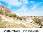 cappadocia  nevsehir  turkey ... | Shutterstock . vector #1455587000