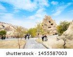 cappadocia  nevsehir  turkey ... | Shutterstock . vector #1455587003