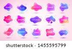 vector 3d gradient spots set...   Shutterstock .eps vector #1455595799