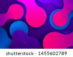 modern and colorful abstract...   Shutterstock . vector #1455602789