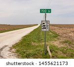 Weight Limit Road Sign On Rural ...