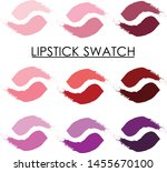 makeup strokes  beauty and... | Shutterstock .eps vector #1455670100