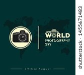 camera vector design  world... | Shutterstock .eps vector #1455671483