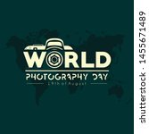 typographylogo for world... | Shutterstock .eps vector #1455671489