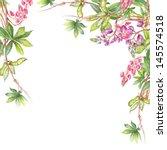 lupine pattern | Shutterstock . vector #145574518