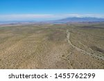 Aerial View Of Desert Next The ...