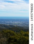 Small photo of Adelaide city skyline view from Mt Lofty summit.