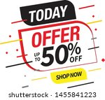 sale and special offer tag ... | Shutterstock .eps vector #1455841223