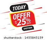 sale and special offer tag ... | Shutterstock .eps vector #1455845159