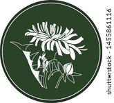White Logo Dandelion Flower On...