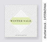 unique editable modern social...   Shutterstock .eps vector #1455865466