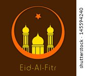 muslim community festival eid... | Shutterstock .eps vector #145594240