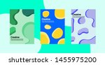 modern and minimal abstract... | Shutterstock .eps vector #1455975200