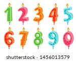 Cartoon Anniversary Numbers...