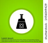 artificial beaker icon for your ... | Shutterstock . vector #1456049429