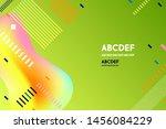 green cover vocation modern... | Shutterstock .eps vector #1456084229