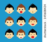 vector cartoon style for use | Shutterstock .eps vector #145608424