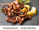 Octopus Salad With Lemon Herbs...