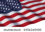 3d render of united states of... | Shutterstock . vector #1456165430