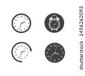 clock time logo icon...