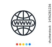 internet browser icon vector...