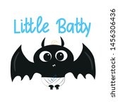 baby shower  halloween  autumn  ... | Shutterstock .eps vector #1456306436