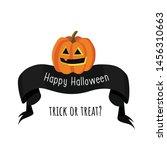 happy halloween. trick or treat.... | Shutterstock .eps vector #1456310663