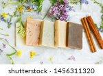 Natural Handmade Soap Bars With ...
