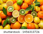 Mix Of Fresh Fruits As...