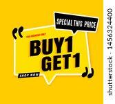 Buy 1 Gey 1 Free Sale Banner...