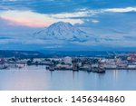 A View Of Mount Rainier And Th...