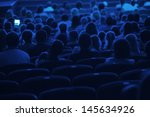Audience In The Cinema....