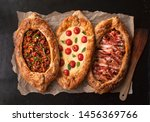 Traditional Turkish Baked Pide...
