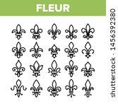 Fleur De Lys  Royalty Linear...