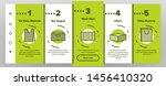 packaging types onboarding... | Shutterstock . vector #1456410320