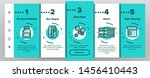 laundry line icon set... | Shutterstock . vector #1456410443