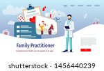 web page design template for...   Shutterstock .eps vector #1456440239