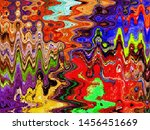 multi color digital abstract... | Shutterstock . vector #1456451669