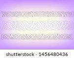 abstract illustration celtic... | Shutterstock .eps vector #1456480436