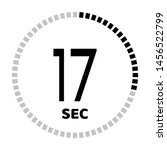 the 17 second countdown timer...