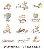 set of logos and labels for ... | Shutterstock .eps vector #1456555316